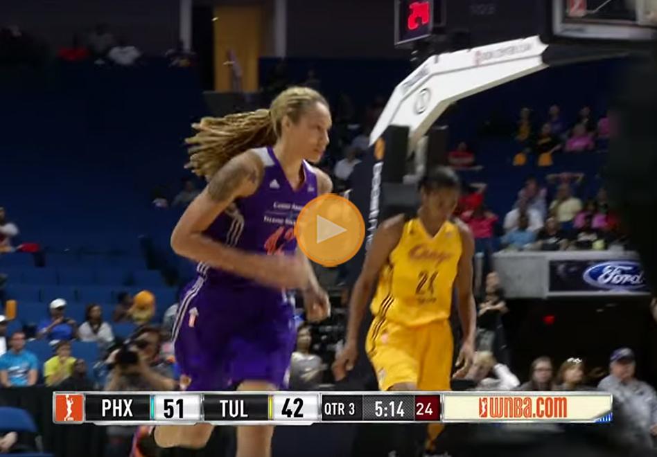 Phoenix Mercury con brittney griner sacan la escoba y terminan con Tulsa Shock
