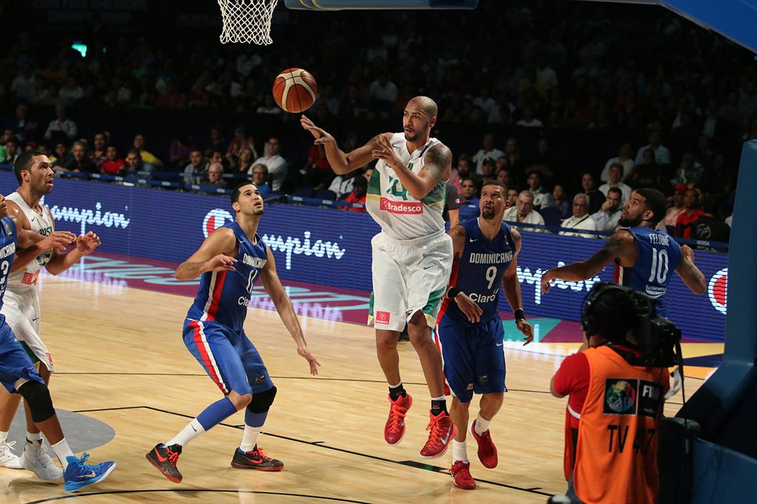 Brasil y Puerto Rico reaccionan en fiba americas por viva basquet