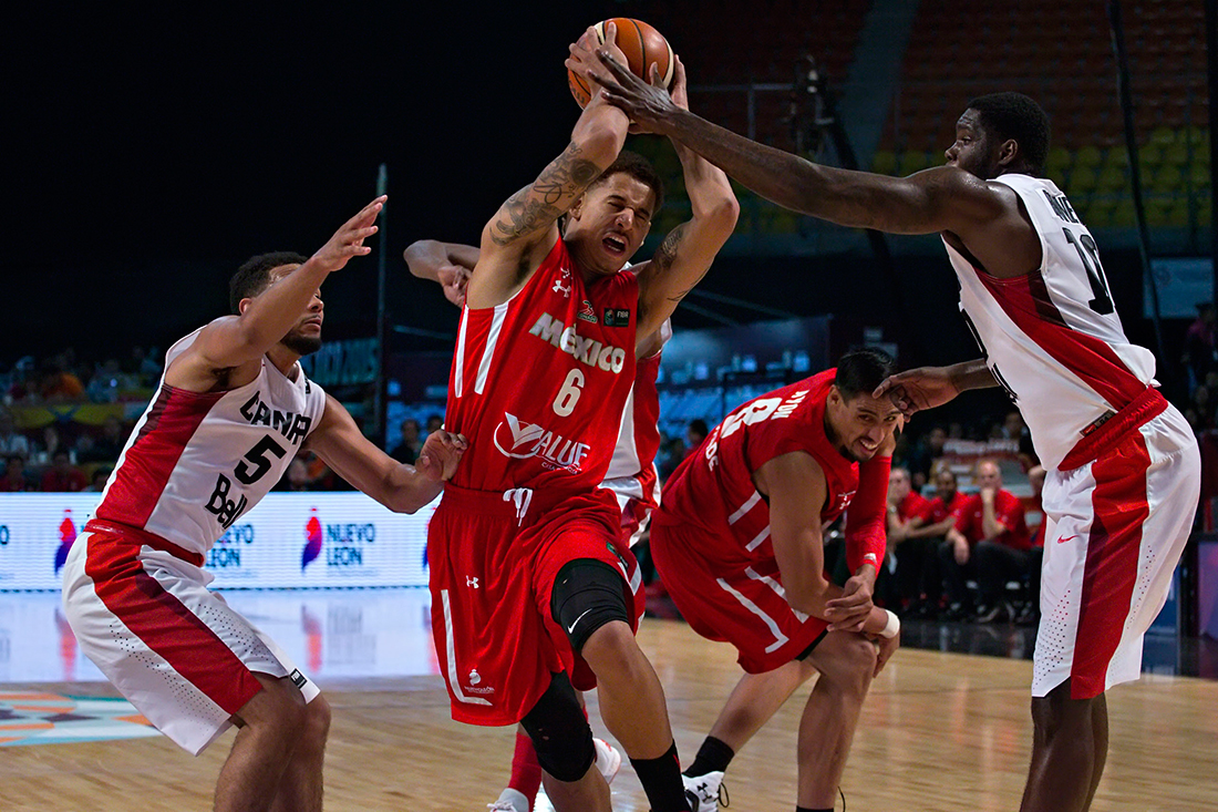 Canadá le pone freno a los 12 Guerreros en el preolímpico  FIBA Americas 2015
