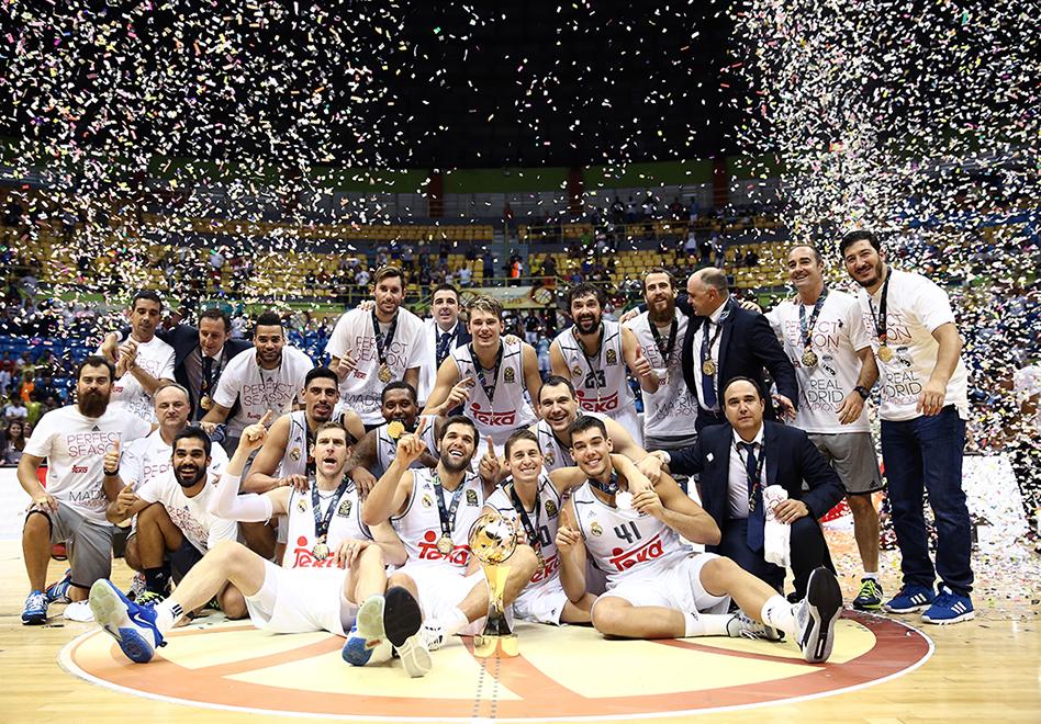 Real Madrid campeón de la Intercontinental por viva basquet