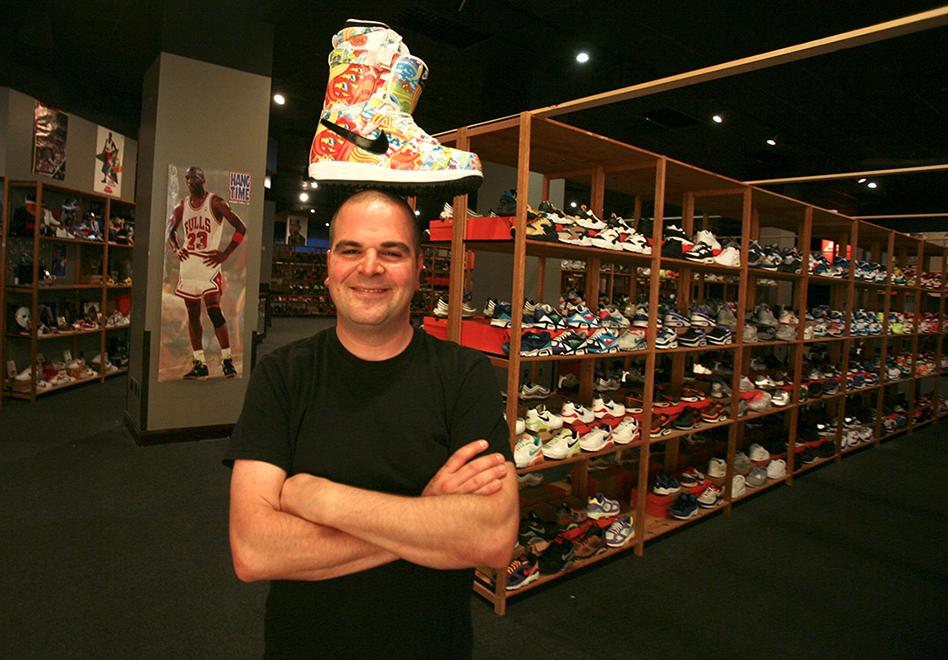 Jordan Geller es El mayor coleccionista de Air Jordan y tiene un shoezeum