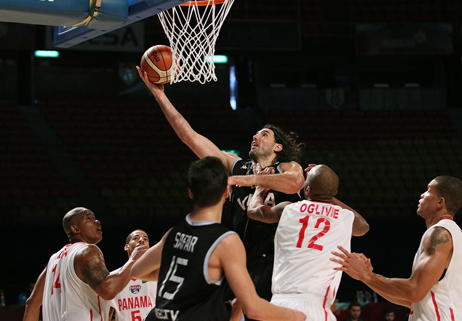 ARGENTINA CAMINA A SEMIFINALES en FIBA AMERICAS 2015