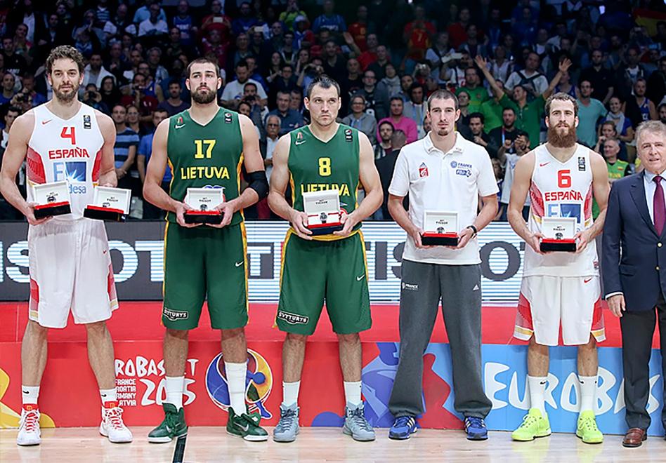El Equipo Ideal del Eurobasket 2015