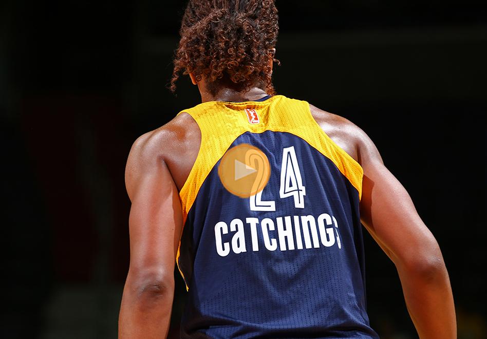 Tamika Catchings lleva a Indiana a la final de la WNBA