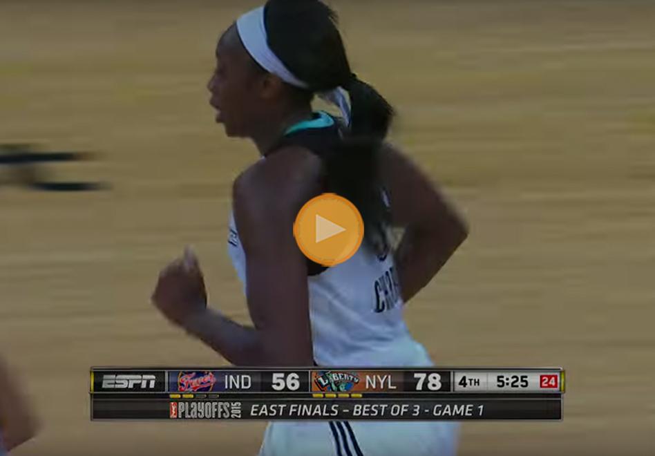 Playoffs WNBA: New York se lleva el primero en la Conferencia Este