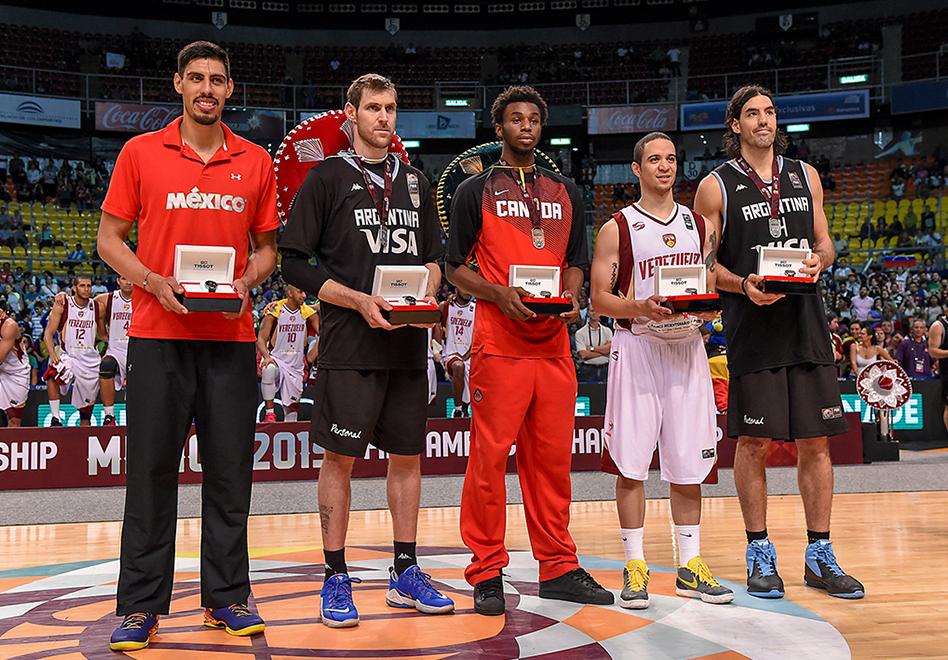 Gustavo Ayón en el Equipo Ideal de FIBA Américas