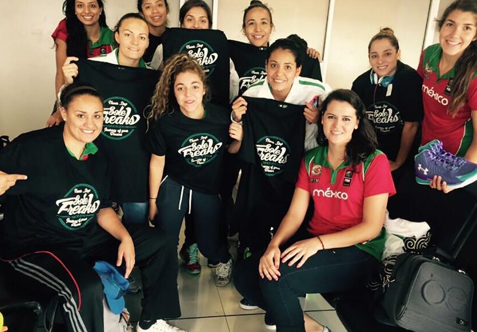 La Selección Femenil ya está en Costa Rica.