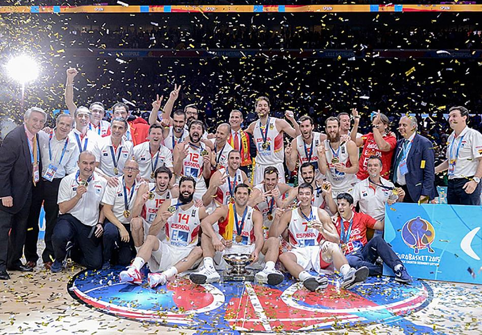 España es el rey de Europa derrotando a lituania en la final del eurobasket 2015