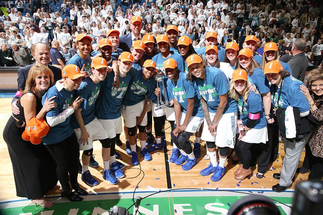 Minnesota Lynx campeonas de la WNBA