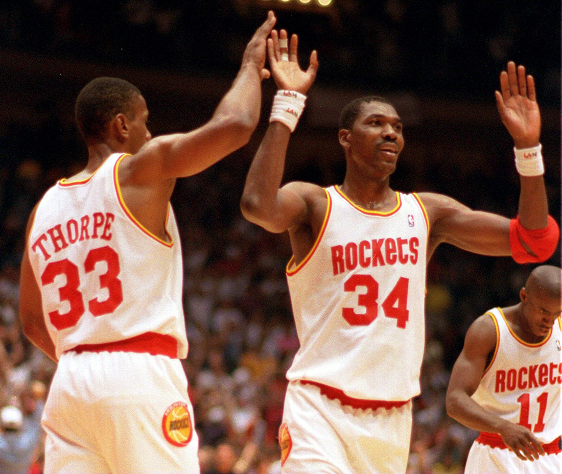 los Rockets de Houston de la temporada 93-94