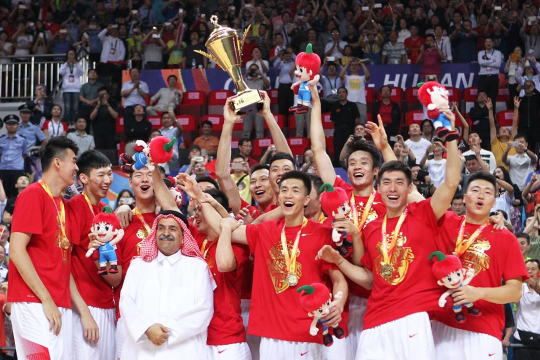 CHINA CAMPEONES en FIBA ASIA, China ya está en Rio 2016