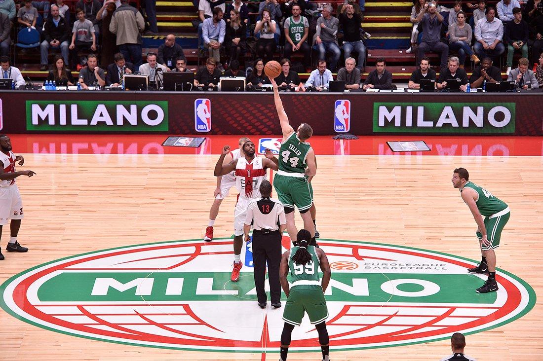 Arrancaron los Global Games en la NBA