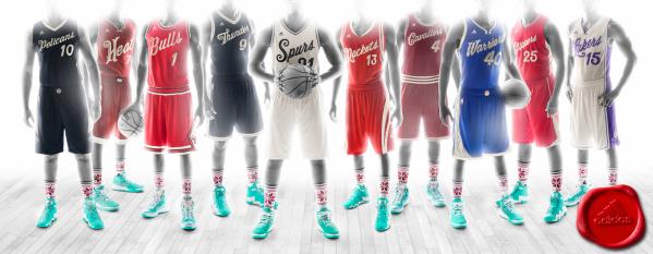 La NBA ya tiene listos los  jerseys para Navidad