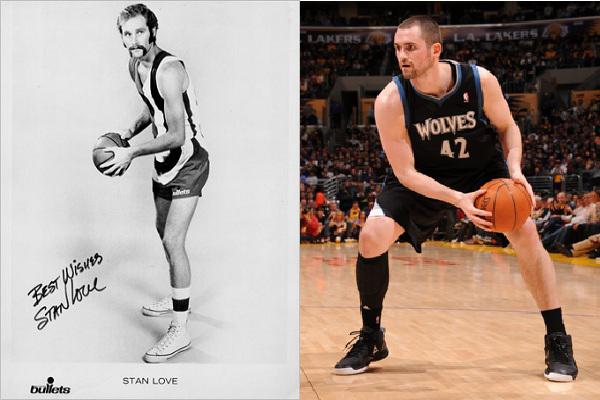 Love padre e hijo en Padres que dejaron herencia en la NBA.Love padre e hijo en Padres que dejaron herencia en la NBA.