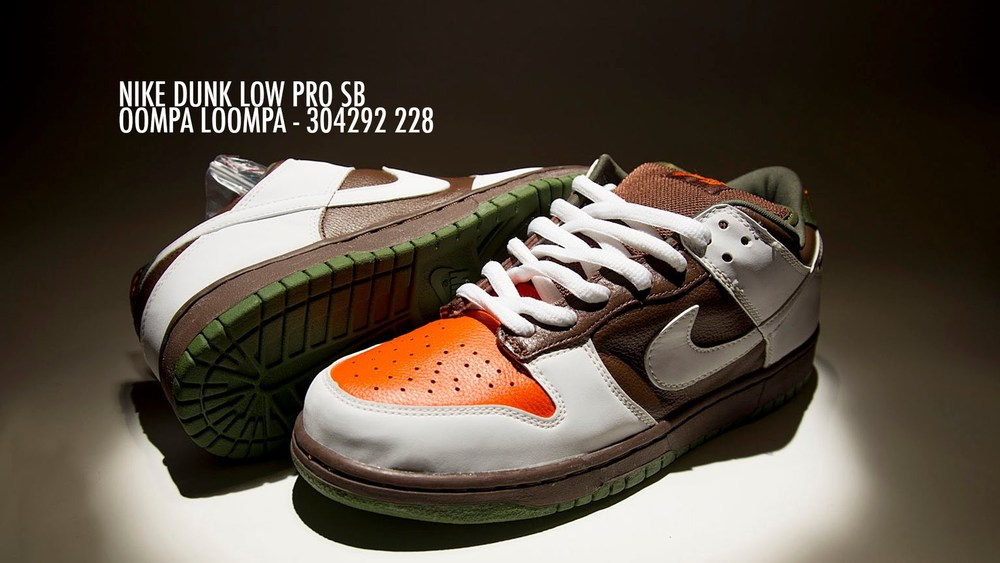 Willy Wonka and the Chocolate Factory - Oompa Loompa - Nike Dunk SB Low