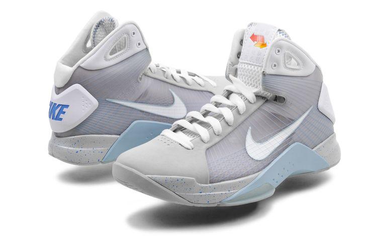 "nuevos tenis Nike Hyperdunk ""Marty McFly"""