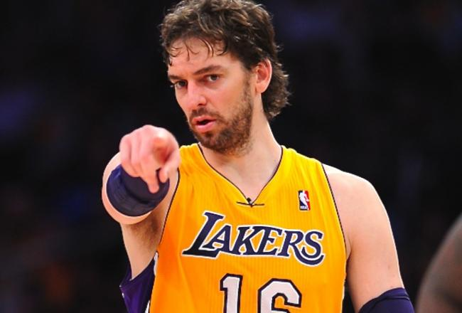 pau gasol Los Mejores Europeos en la Historia de la NBA