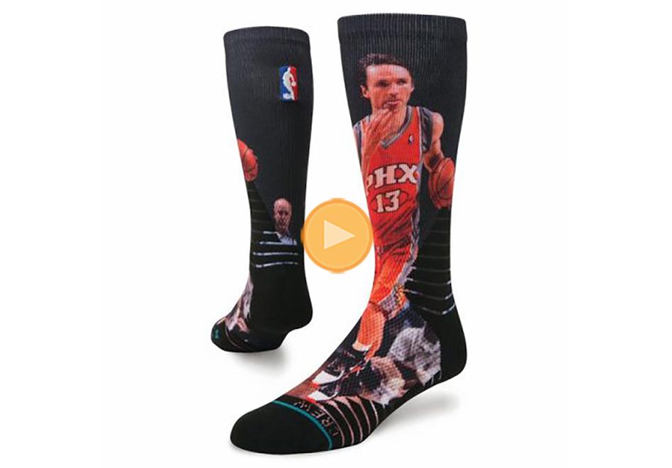 homenaje a steve nash con calcetas stance