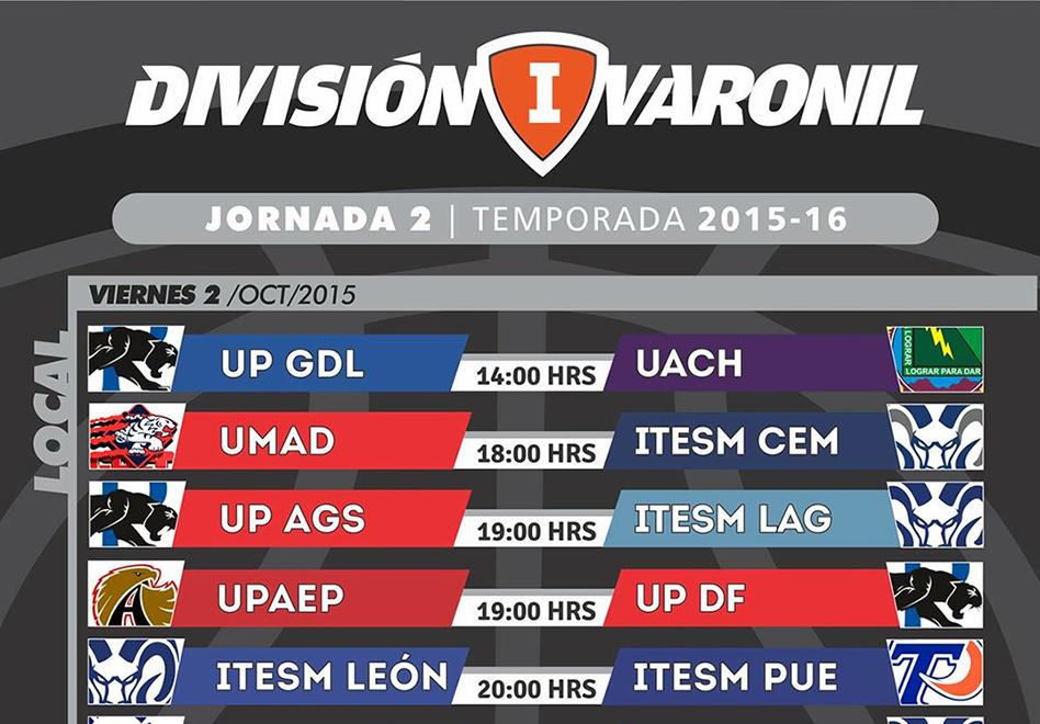En marcha la segunda jornada de División I en la ABE