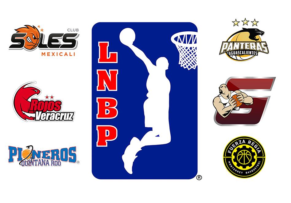 LOGO-Liga Nacional de baloncesto profesional y logos de los equipos