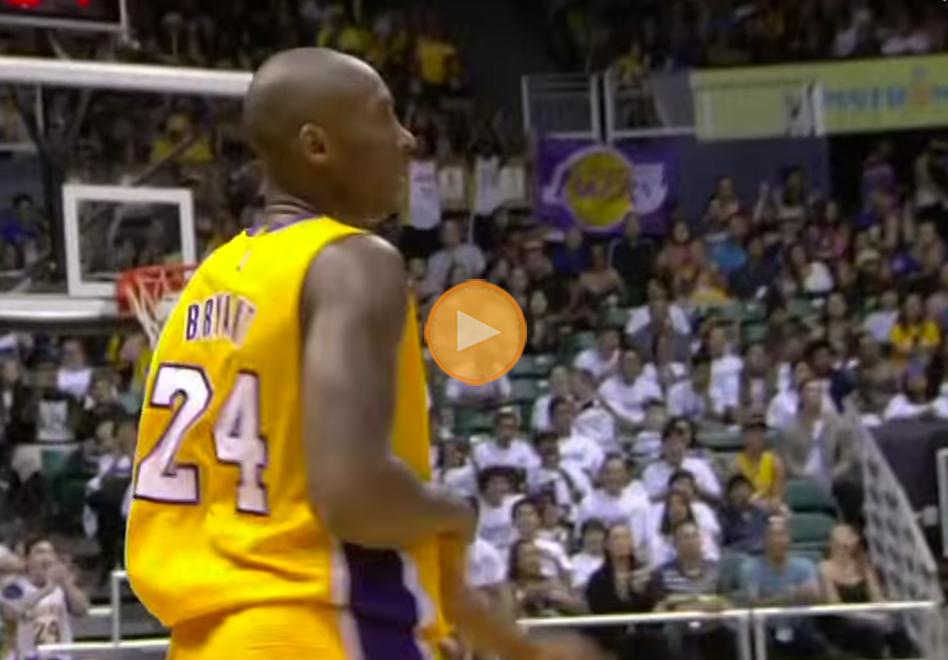 Kobe Bryant está de vuelta
