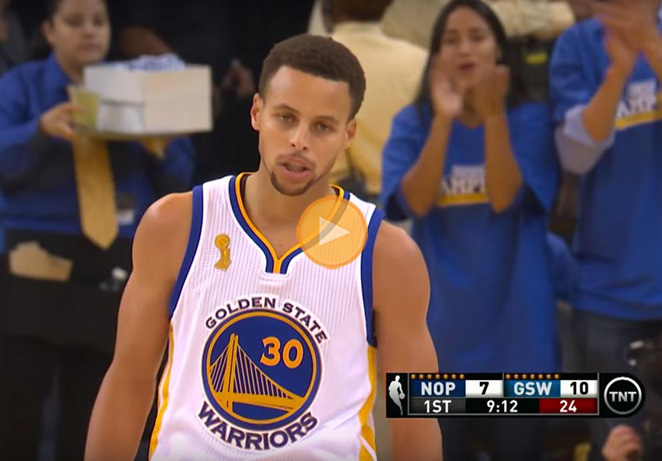 heroica actuacion para stephen curry en el inicio de temporada 2015-16 de la NBA