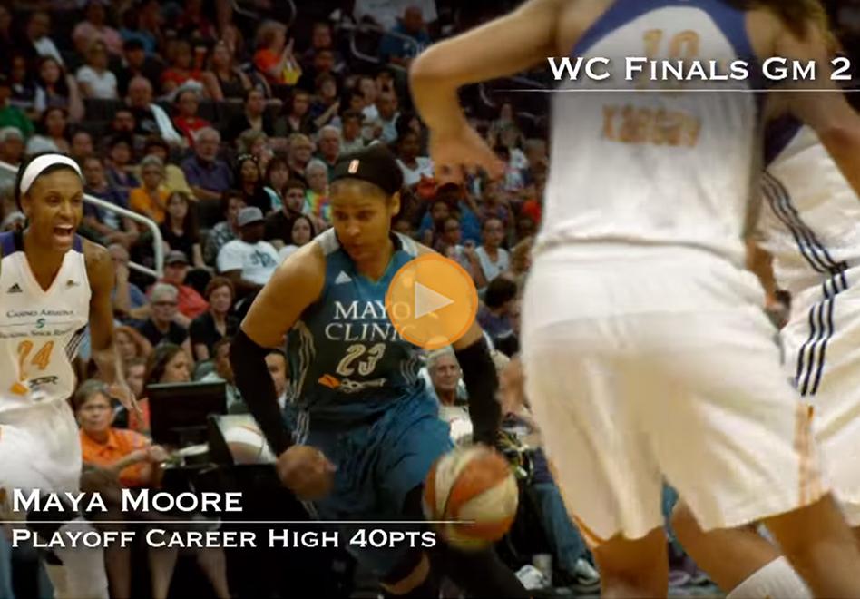 Lo mejor de las Finales de Conferencia en la WNBA.