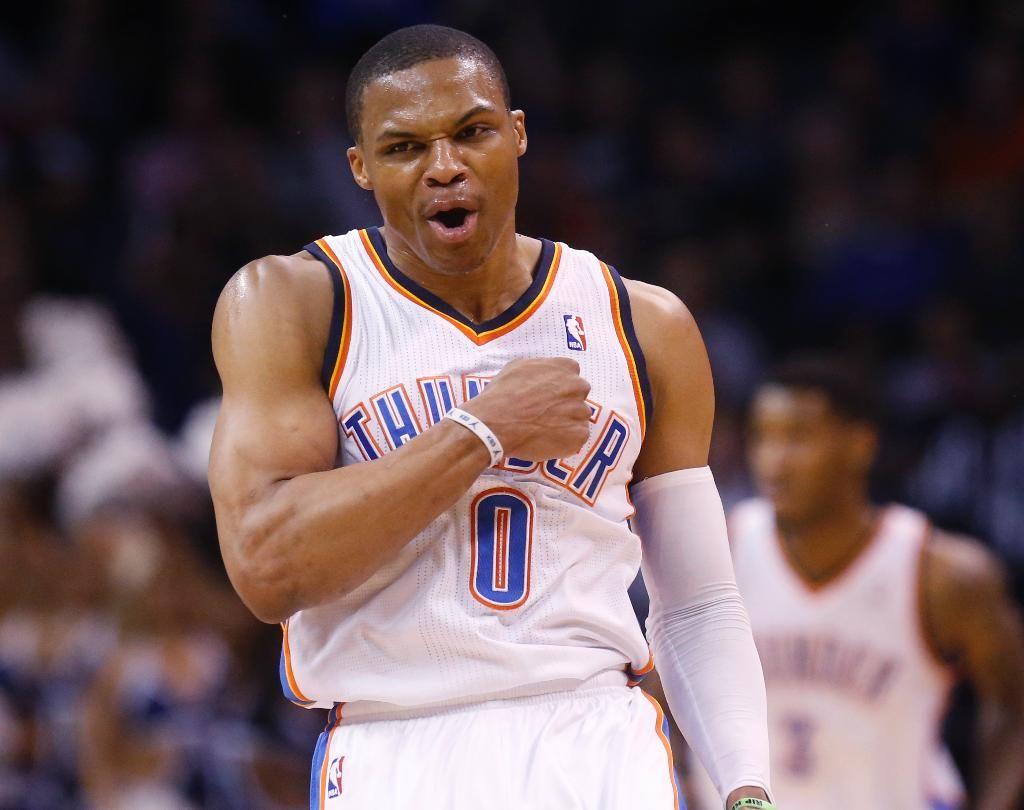 Russell Westbrook Uno de los 10 mejores bases en la actualidad en la NBA