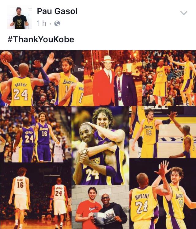 Le rinden tributo a Kobe por Viva Basquet