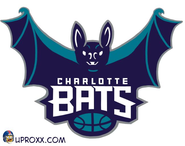 Los logos de la NBA al estilo Halloween, charlotte
