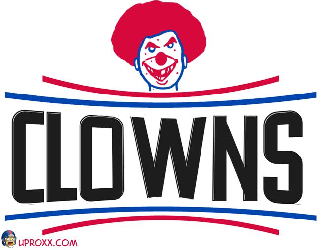 Los logos de la NBA al estilo Halloween, lac