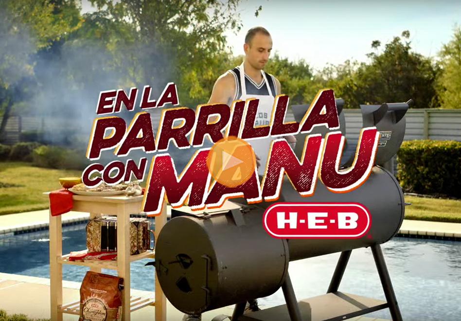 Los comerciales de los Spurs patrocinados por HEB