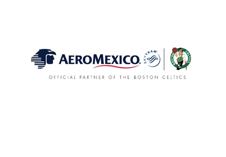 Los Celtics y Aeroméxico presentan alianza
