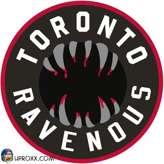 Los logos de la NBA al estilo Halloween,  toronto