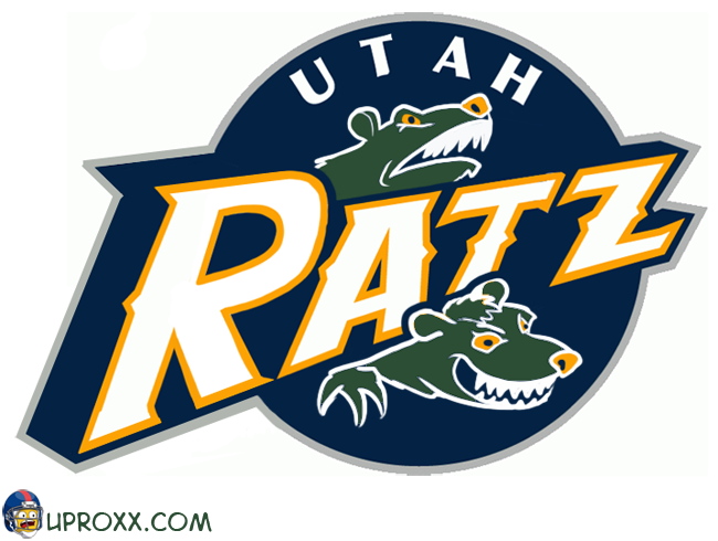 Los logos de la NBA al estilo Halloween, utah