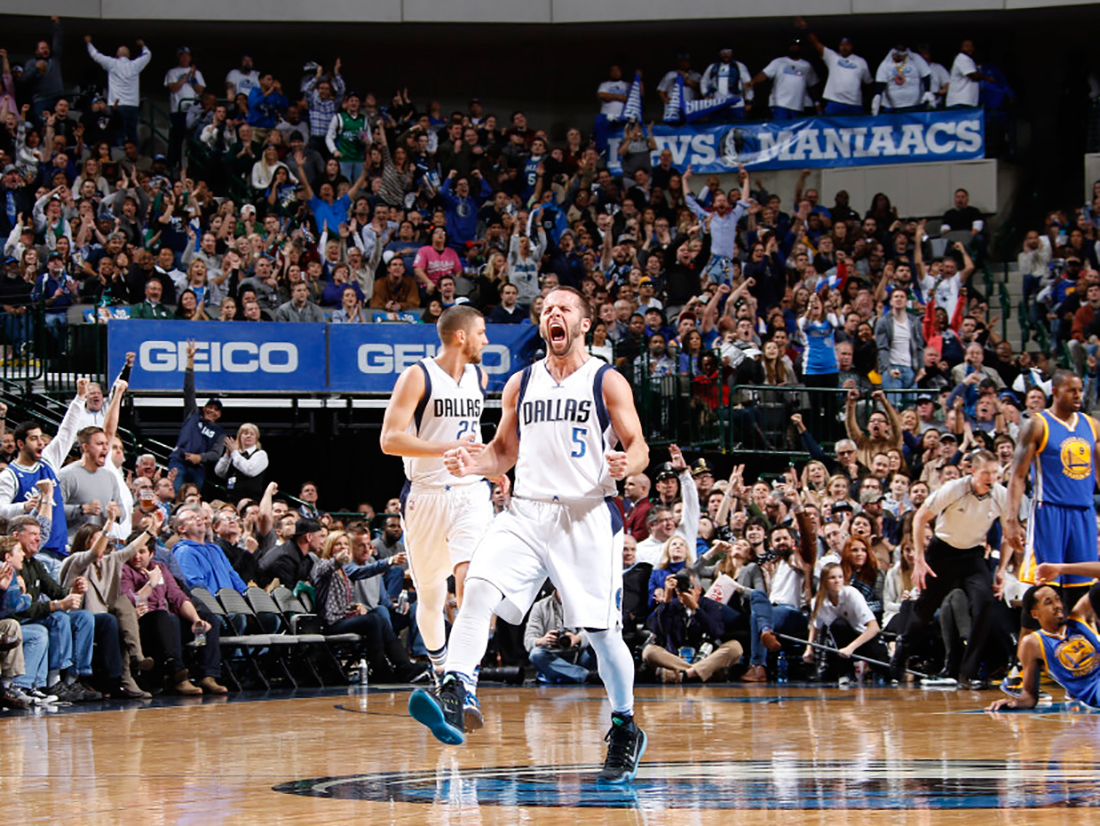 Sin Stephen Curry los Warriors no pudieron con los Mavs