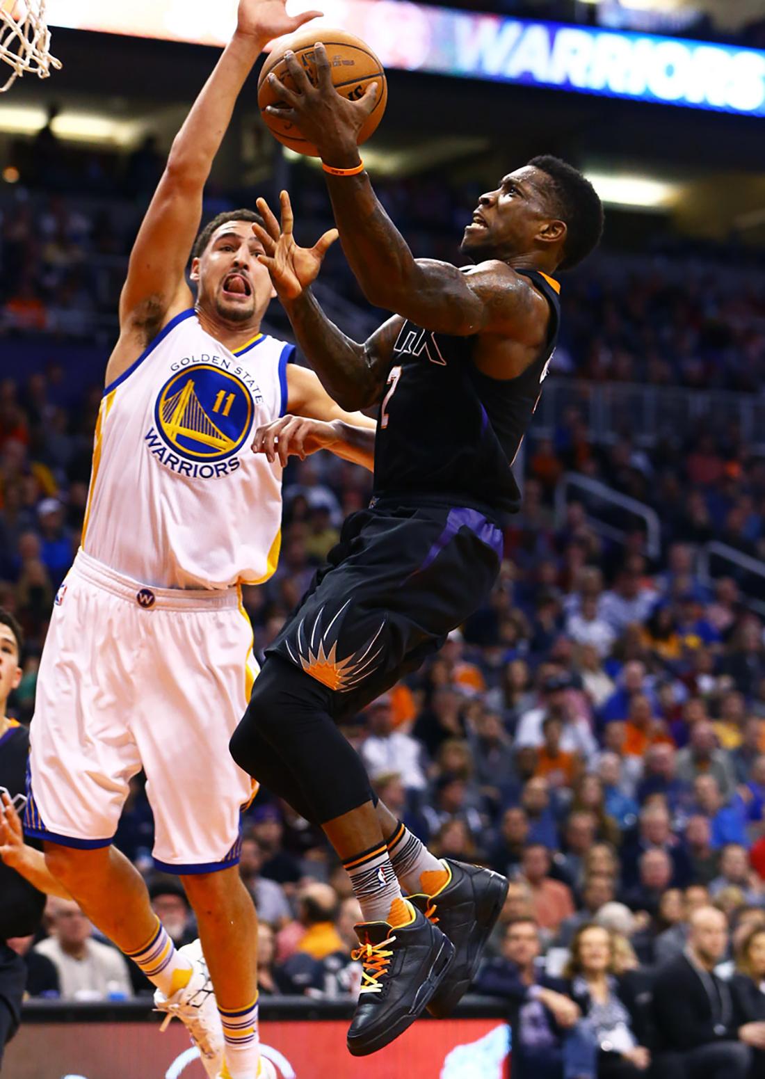 """Eric Bledsoe – Phoenix Suns. Air Jordan III """"Drake vs Lil Wayne""""."""