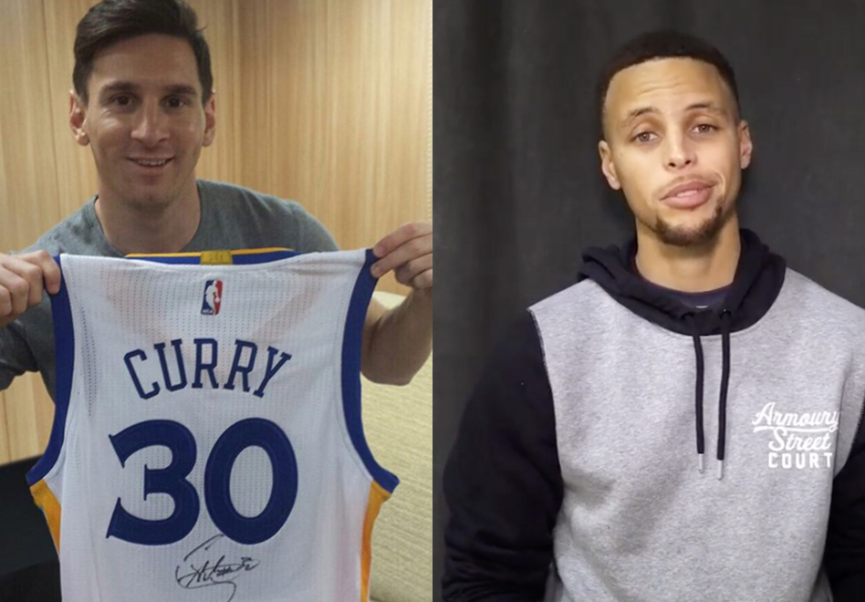 De Stephen Curry para Lionel Messi por Viva Basquet