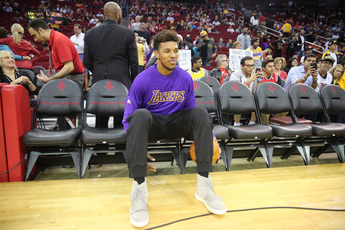 Nick Young y sus Yeezy Boost