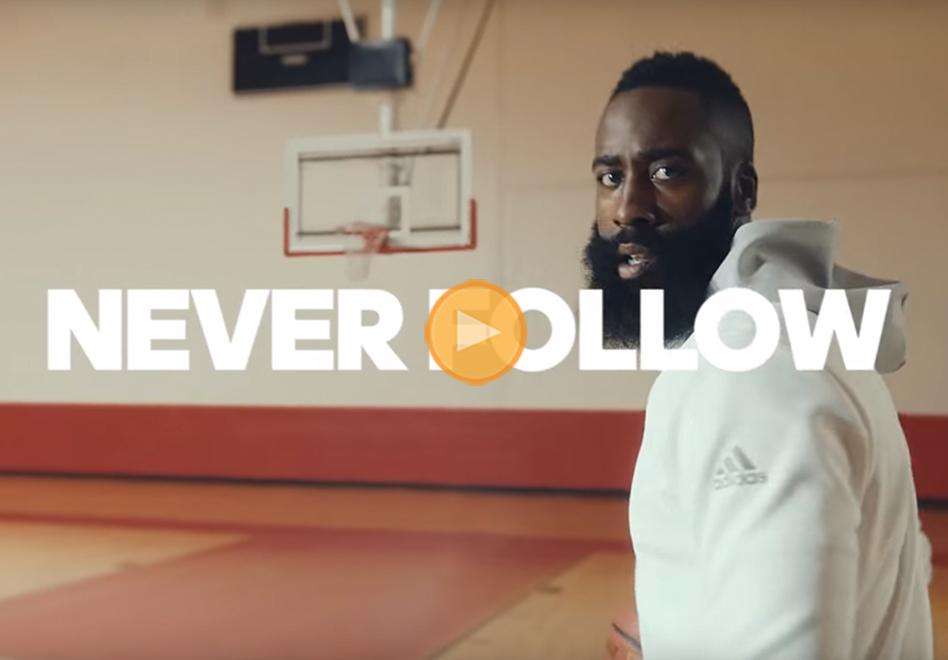 james harden en su primer anuncio con Adidas