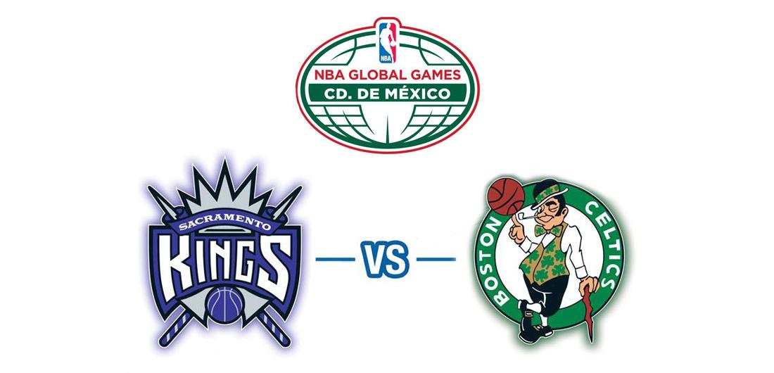 NBA Global games mexico city 2015 celtics vs kings