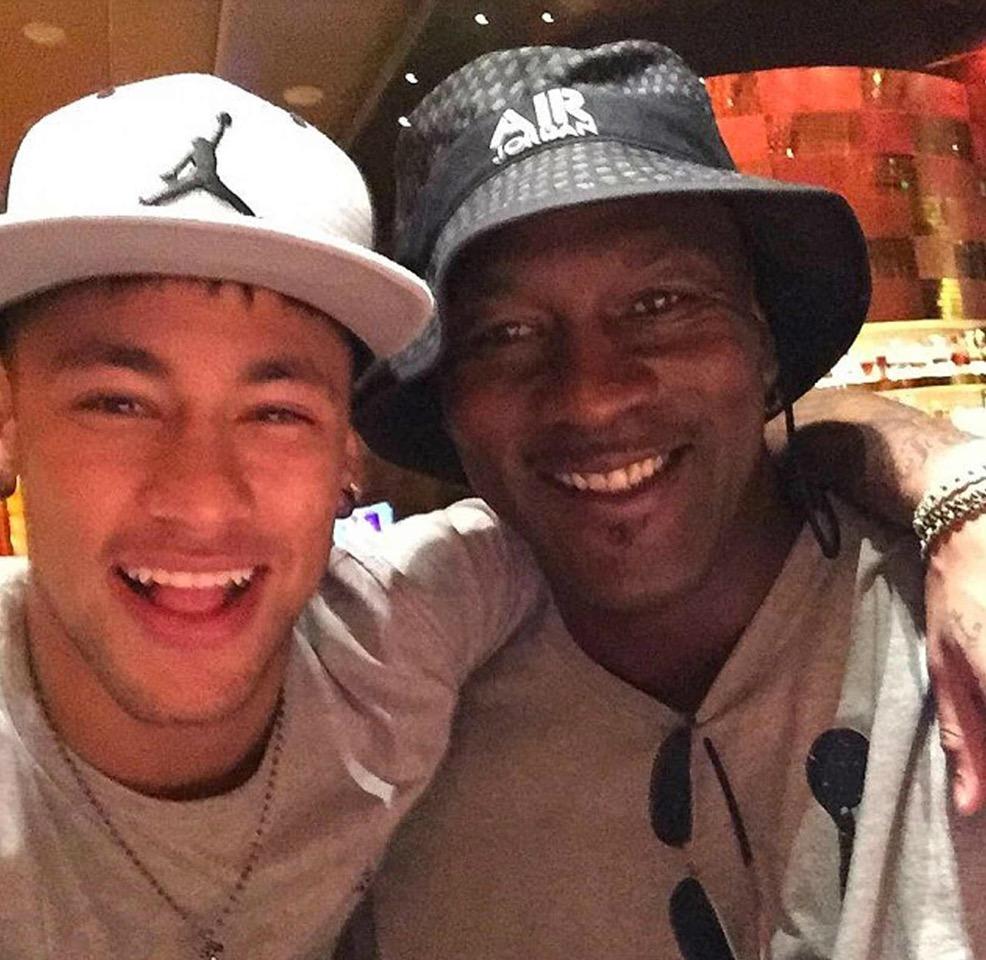 """Jordan colabora con Neymar para lanzar los primeros """"Air Jordan 5"""" para futból"""