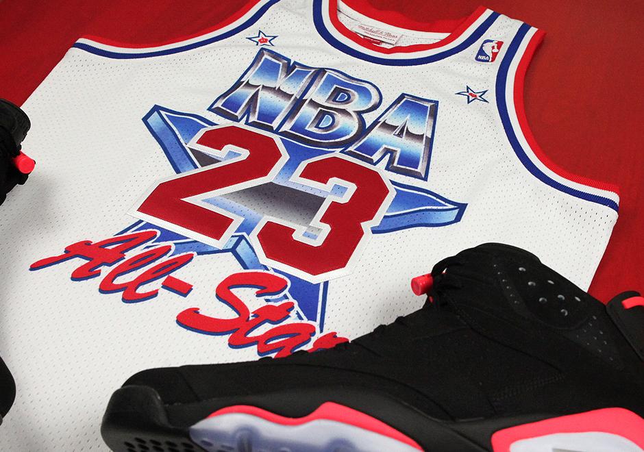Para festejar el aniversario 25 de la aparición de Michael Jordan en el Juego de las Estrellas, Mitchell & Ness prepara un jersey en honor a Michael Jordan, similar al que Su Majestad utilizo durante aquella noche