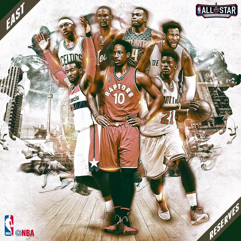 NBA anuncia los reservas para el Juego de Estrellas por Viva Basquet