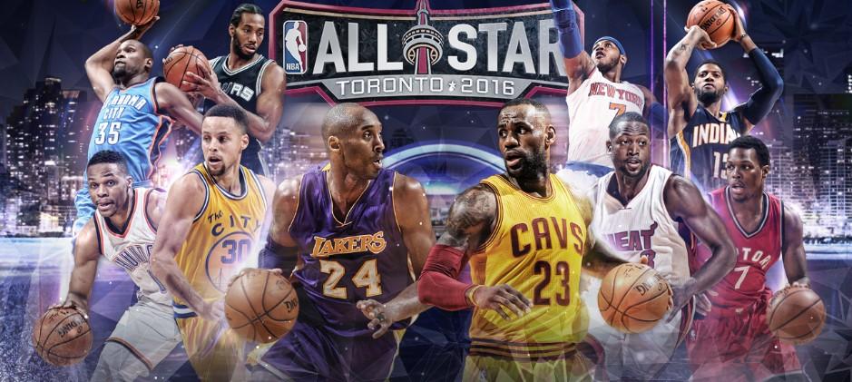 Kobe Bryant encabeza a los titulares del NBA All-Star Game 2016 por Viva Basquet