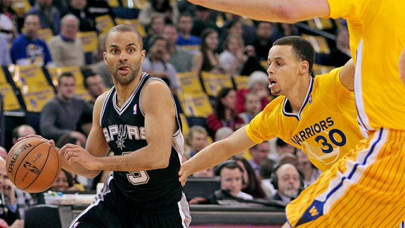Warriors y Spurs  en duelo de poder a poder