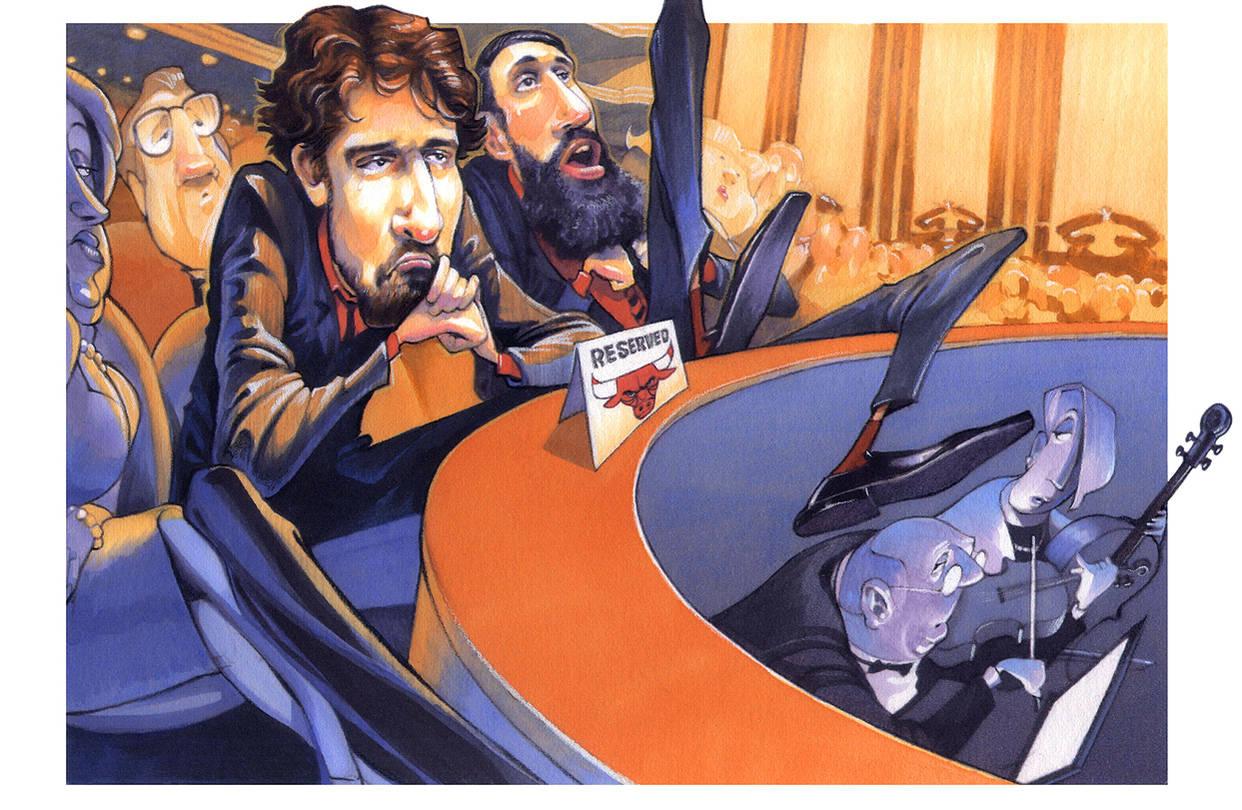 Pau Gasol, fan de la Opera. por Viva Basquet