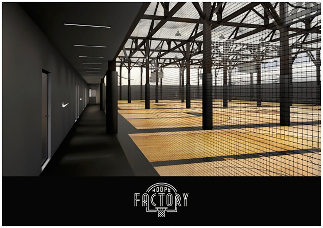 nike hoops Factory en paris