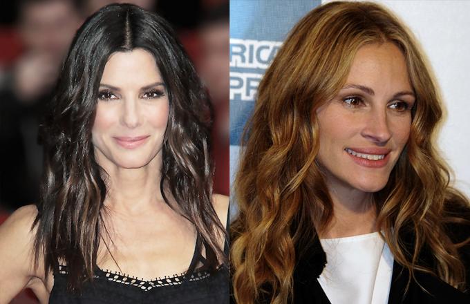 la celebridad favorita de curry es una mezcla entre Sandra Bullock y Julia Roberts
