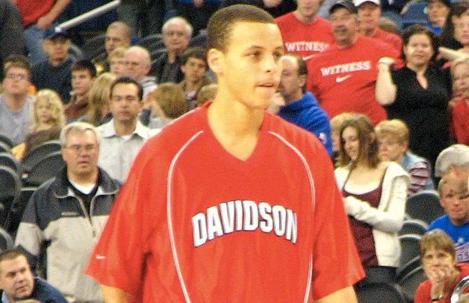 Steph quería jugar en Virginia Tech como su padre
